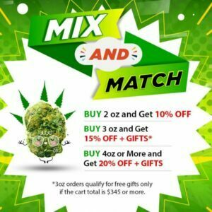 Mix Match ounce Specials at Buy My Weed online