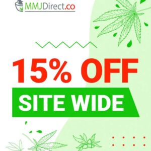 15% 15 OFF Sitewide at MMJ Direct