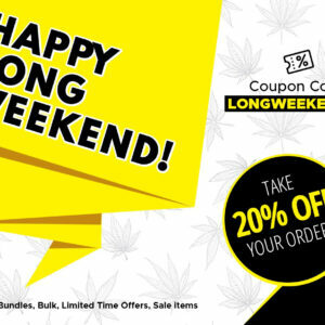 20% OFF all orders for BC Day at LowPrice Bud Dispensary