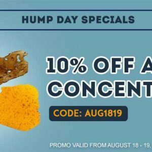 10% off all Concentrates & Extracts at Get Kush