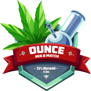 25% Off when you MIX + MATCH 4 or 5 Ounces at PokeBud Dispensary with this Coupon Code