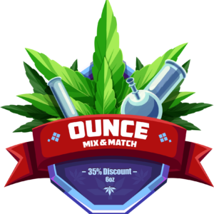 35% Off when you MIX + MATCH 6+ Ounces of Cannabis at PokeBud Dispensary