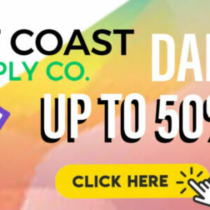 Save up to 50% off here at West Coast Supply'
