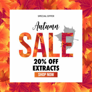 20% off Extracts