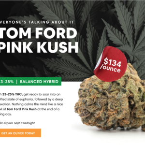 Daily Deal: Tom Ford Pink Kush at Herb Approach
