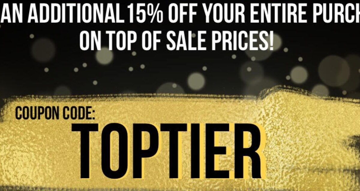 Top Tier Cannabis Coupons - 15% Off