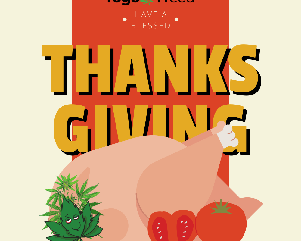 10% off site wide coupon code for Thanksgiving at Togo Weed Dispensary
