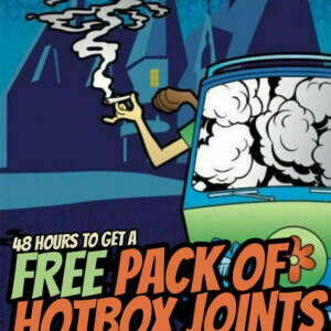 Free 3 Pack of Joints supherbs