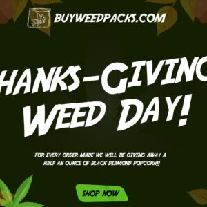 FREE 14G of Black Diamond with every order at Buy Weed Packs