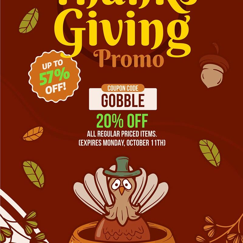 SPEED GREENS Coupon Code 20% OFF Thanksgiving Promo