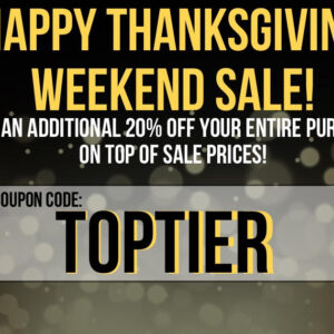 Top Tier Cannabis Coupon Code for an extra 20% Off your Order